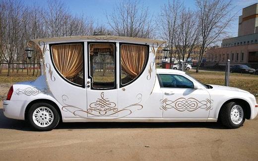 Crysler 300C лимузин карета