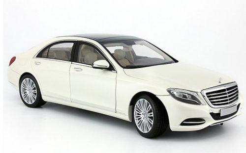 Мерседес S-class W222 белый